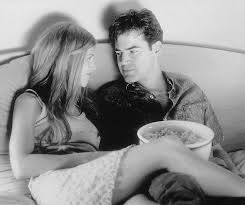 jennifer aniston and ron livingston in office space 1999 amazoncom stills office space