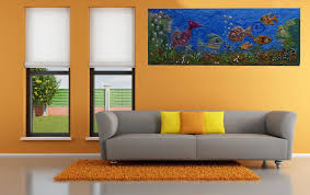 Paintings In Living Room Prasiddhi Creations Painting Home Decor Wall Decor