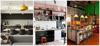 kitchen loft design ideas. 5-beautiful and bright interior in the kitchen loft design ideas