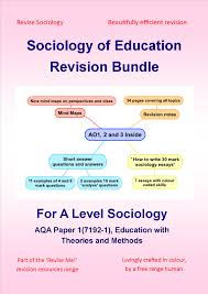 level sociology of education revision bundle a level sociology of education revision bundle