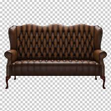 couch loveseat chesterfield furniture leather png clipart angle armrest bed chair chesterfield free png