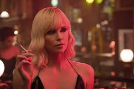 review theron powers atomic blonde with fists and feet