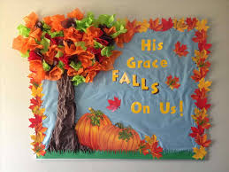 classroom door decorations for fall. #spring #pinwheel #school Bulletin Board Copied The Words From Another Post U Pinteresu. Are Apples Decoration Ideas Fall Tree Classroom Door Decorations For