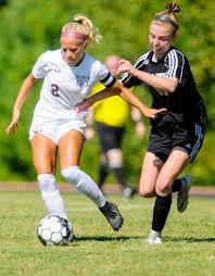 Girls soccer: Audrey Fletcher hits century mark for Monmouth | Lewiston Sun  Journal