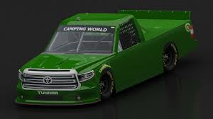 3D model 2017 NASCAR TOYOTA TUNDRA CAMPING WORLD