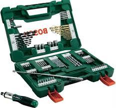<b>Набор</b> инструментов Bosch V-line 91 <b>предмет</b>