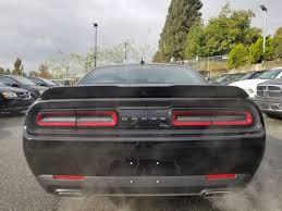 2018 dodge automobiles. beautiful dodge blackpitch black 2018 dodge challenger rear of vehicle photo for dodge automobiles