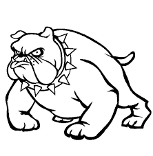 Small Picture English Bulldog Coloring Pages Bulldog Coloring Page Free Coloring