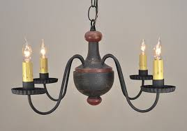 Windham Woodspun Country Primitive Chandelier by Timeless Lighting