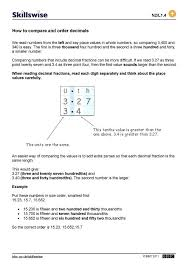 Than Vs Then Worksheet Math Decimals Math Worksheets Properties Of ...