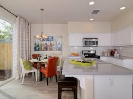 white brown colors kitchen breakfast. Yellow Kitchen With Island White Brown Colors Breakfast HGTVcom