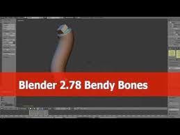 blender 2 78 bendy bones tutorial you animation tutorial3d