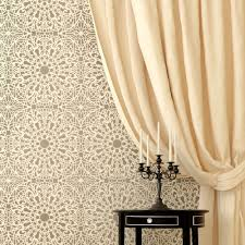 Wall Stencil Patterns Extraordinary Stephanie's Lace Allover Wall Pattern Stencil Reusable Stencils