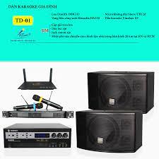 Dàn karaoke gia đình Topsound TD-01