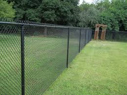 top painting chain link fence