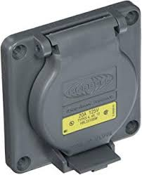 Hubbell Wiring Systems Hbl2610sw Twist Lock Watertight