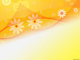 Sunflower Abstract Beauty Backgrounds For Powerpoint Flower Ppt