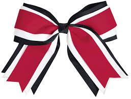 Small Picture Chass Jumbo 3 Color Hair Bow Omni Cheer