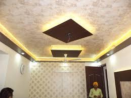 false ceiling design and wallpaper