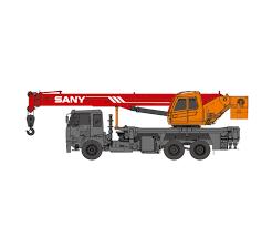Sany Spc250 25 Ton Boom Truck For Sale