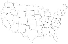 Blank Map Of The United States Printable Shared By Dominick Scalsys