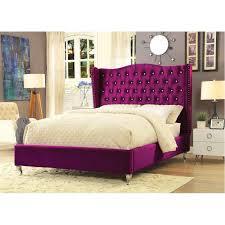 tufted platform bed. Tufted Platform Bed