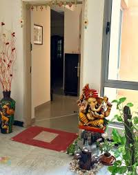 flat entrance indian home entrance