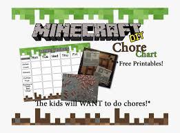 Cassie S Creative Crafts Free Chore Chart Minecraft Chore