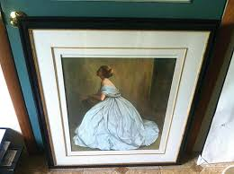 glass for picture frames beautiful horse print no frame a bit worn x non glare michaels