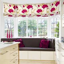 bay window furniture. bay window curtains with floral pattern furniture t