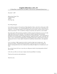 Resume Cover Letter Examples Nursing Student Archives