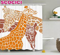 Giraffe Bathroom Decor Popular Camouflage Curtains Buy Cheap Camouflage Curtains Lots