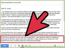 Best Solutions Of Asking Letter Of Recommendation From Professor