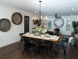 awesome farmhouse chandelier for your dining room ideas with wall decor and dark