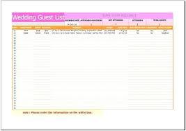 Wedding List Templates Sample Wedding List To Do Wedding Gift Wish ...