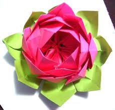 Paper Napkin Folding Flower Lotus Napkin Fold Easy