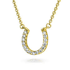 lucky you horseshoe add your review good luck horseshoe station pendant necklace