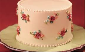 Vintage Floral Piped Cake Tutorial Cake Geek Magazine