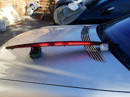 2006 Pontiac G6 3rd Brake Light Spoiler With Led Third Brake Light Pontiac G6 Convertible 3rd Granite 2006 2009