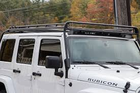 gobi stealth roof rack 4 door jeep close up