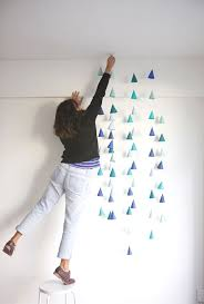 stylish diy interior decoration for new year celebration brilliant mini cone decorations for wall interior