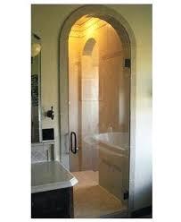 arched shower door round shower door parts