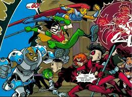 Teen titans teen tyrants