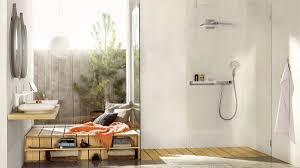 Im Trend Glas Und Transparenz Im Badezimmer Hansgrohe At