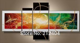 Small Picture Aliexpresscom Buy Modern Oil Colorful Paintings Hand painted
