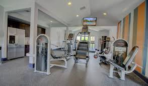 our apartments in the woodlands texas showcase a modern fitness center