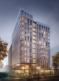 office facades. The United States\u0027 First Mass-Timber Highrise Receives Planning Permission Office Facades T