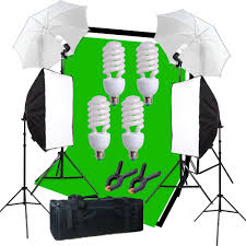 studio light photo softbox photography kit muslin backdrop lighting kit