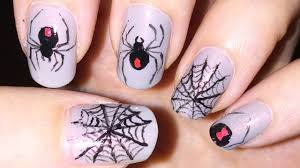 Nail Art Spider Web Design 50 Most Beautiful Spider Web Halloween Nail Art Designs
