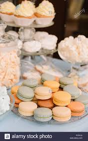 Beautiful Cakes And Almond Cookies Stock Photo 223464338 Alamy